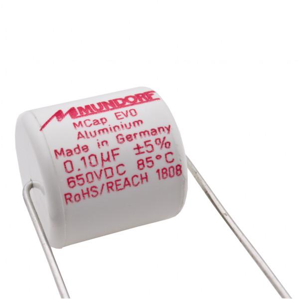 Mundorf MCap ME EVO 0,10uF 650V High End Audio Kondensator capacitor 860449