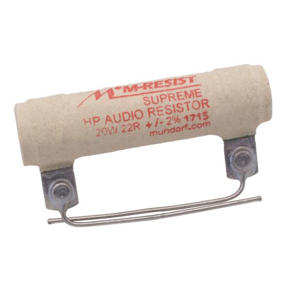 Mundorf MRES20-22 MResist SUPREME 22Ohm Widerstand 22R 20W 2% 853161