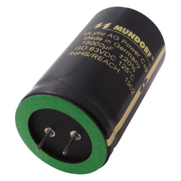 Mundorf Kondensator Elko 15000uF 63V 125°C MLytic ® AG Audio Grade 853463