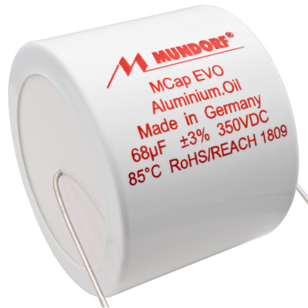 Mundorf MCap MEO EVO Oil Öl 68uF 350V High End Kondensator capacitor 854259