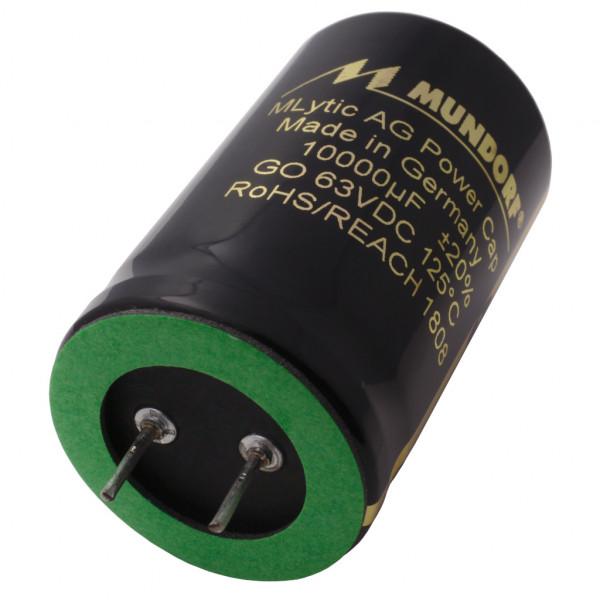 Mundorf Kondensator Elko 10000uF 63V 125°C MLytic ® AG Audio Grade 852910