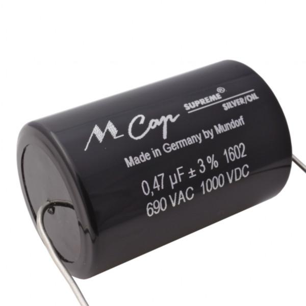 Mundorf MCap SUP.SO SUPREME SILVER OIL Öl 0,47uF Kondensator capacitor 852610