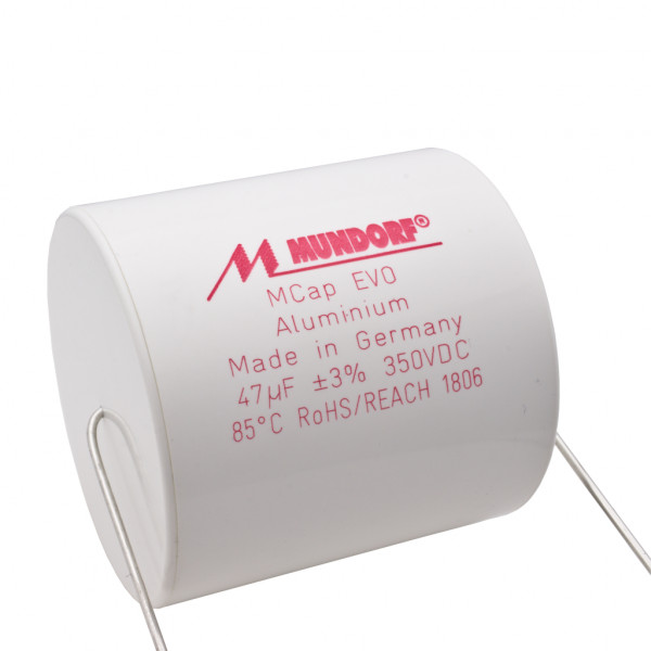 Mundorf MCap ME EVO 47uF 350V High End Audio Kondensator capacitor 854758