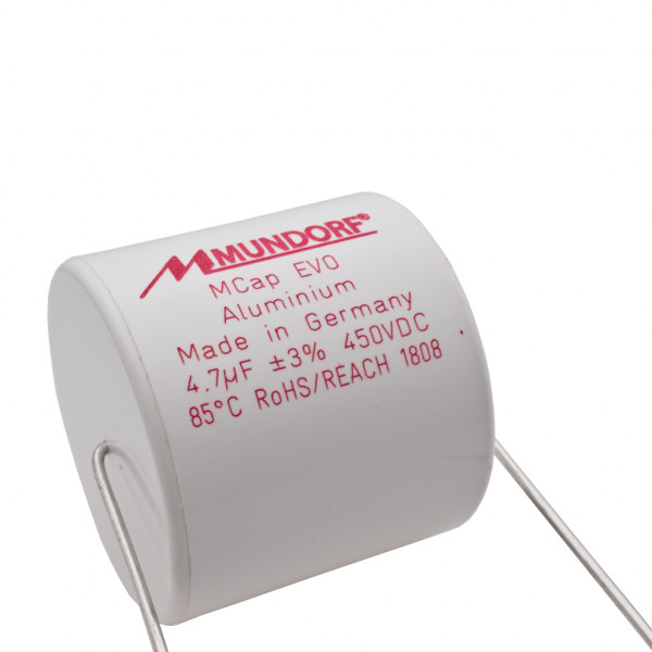 Mundorf MCap ME EVO 4,7uF 450V High End Audio Kondensator capacitor 853752