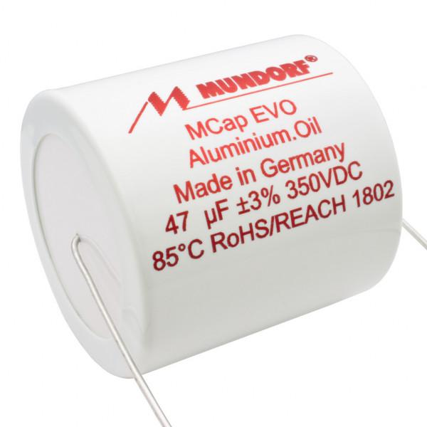 Mundorf MCap MEO EVO Oil Öl 47uF 350V High End Kondensator capacitor 854258