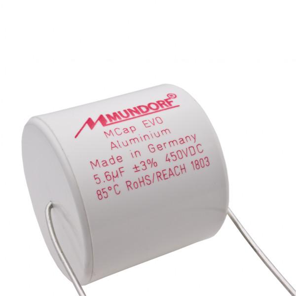 Mundorf MCap ME EVO 5,6uF 450V High End Audio Kondensator capacitor 853753