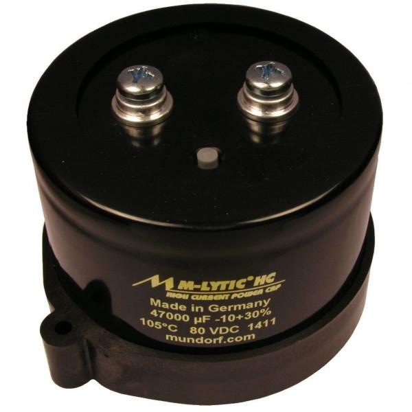 Mundorf MLytic ® HC 47000uF 80V 105°C Kondensator Elko High Current 854296