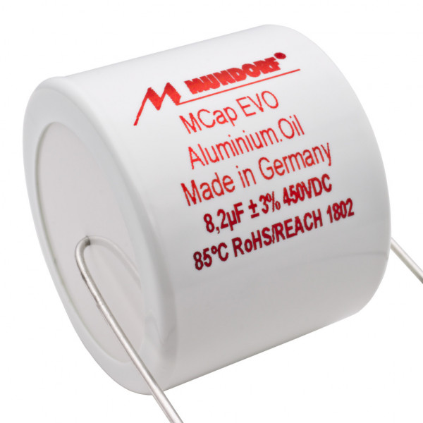 Mundorf MCap MEO EVO Oil Öl 8,2uF 450V High End Kondensator capacitor 853765