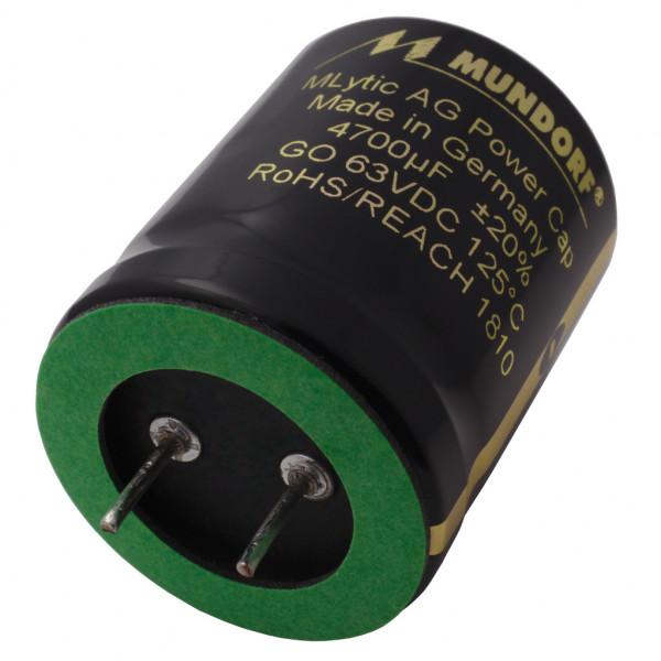 Mundorf Kondensator Elko 4700uF 63V 125°C MLytic ® AG Audio Grade 852957