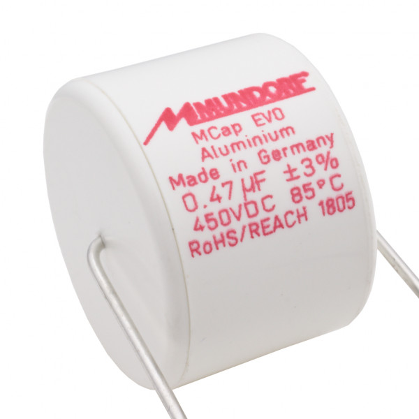 Mundorf MCap ME EVO 0,47uF 450V High End Audio Kondensator capacitor 860454