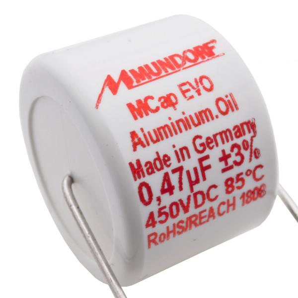 Mundorf MCap MEO EVO Oil Öl 0,47uF 450V High End Kondensator capacitor 854265