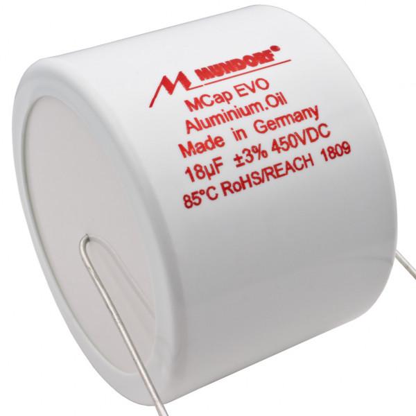 Mundorf MCap MEO EVO Oil Öl 18uF 450V High End Kondensator capacitor 860494