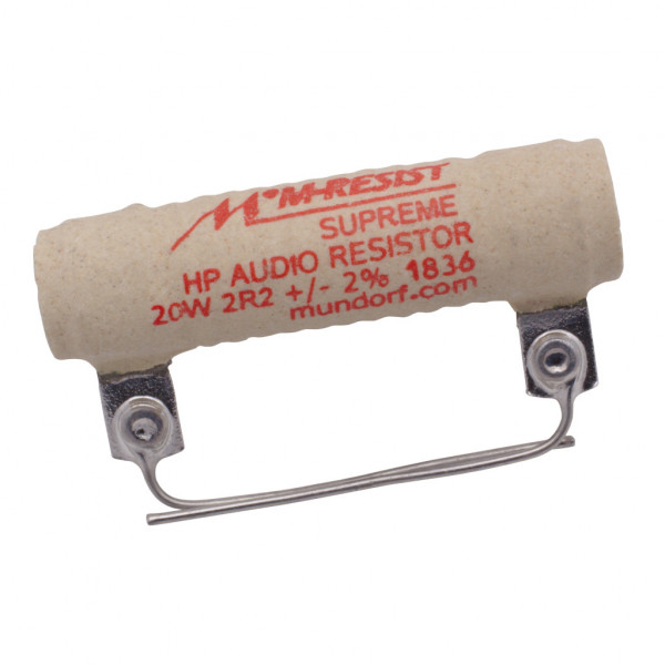 Mundorf MRES20-2,2 MResist SUPREME 2,2Ohm Widerstand 2,2R 20W 2% 853150