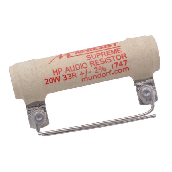 Mundorf MRES20-33 MResist SUPREME 33Ohm Widerstand 33R 20W 2% 853162