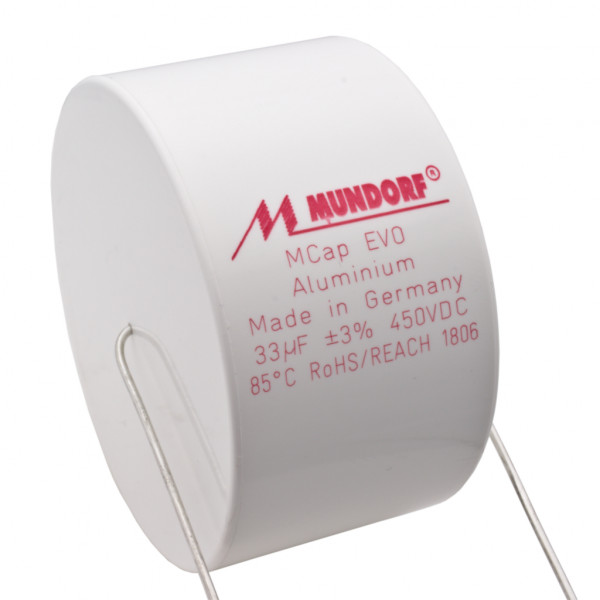 Mundorf MCap ME EVO 33uF 450V High End Audio Kondensator capacitor 853799