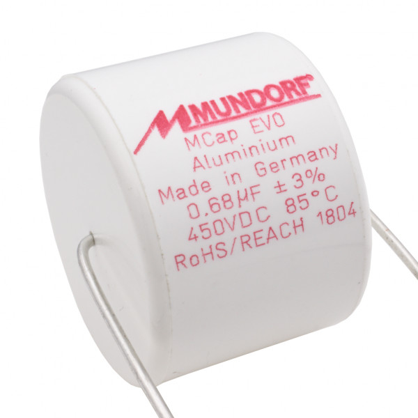 Mundorf MCap ME EVO 0,68uF 450V High End Audio Kondensator capacitor 860456