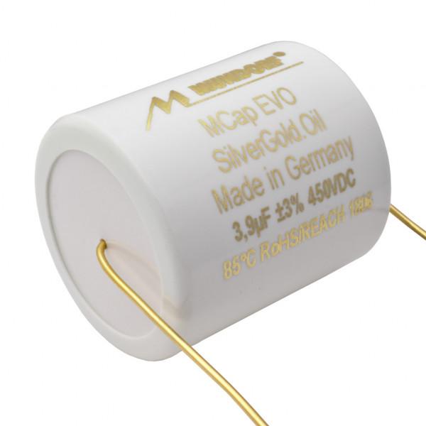Mundorf MCap MESGO EVO SilberGold.Öl Oil 3,9uF Kondensator capacitor 860530