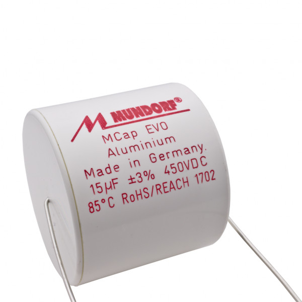Mundorf MCap ME EVO 15uF 450V High End Audio Kondensator capacitor 853797