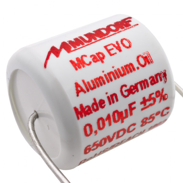 Mundorf MCap MEO EVO Oil Öl 0,01uF 650V High End Kondensator capacitor 854253