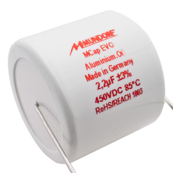 Mundorf MCap MEO EVO Oil Öl 2,2uF 450V High End Kondensator capacitor 853740