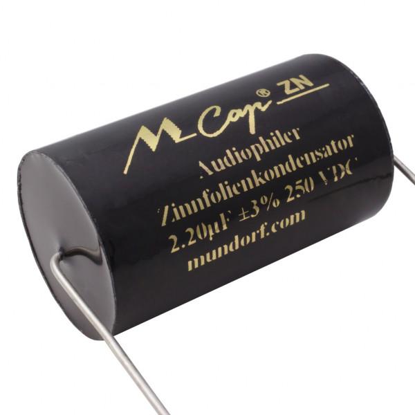Mundorf MCapZN 2,2uF Audio Zinnfolien-Kondensator MCap ® capacitor 250V 851549