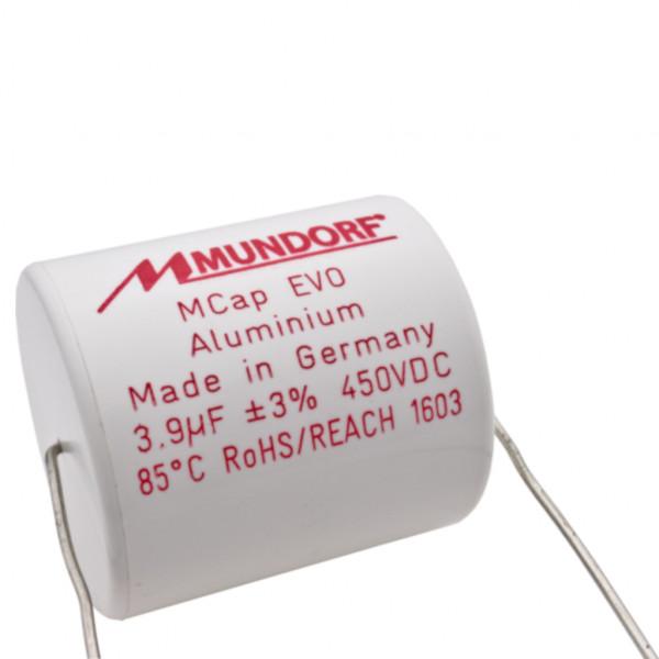 Mundorf MCap ME EVO 3,9uF 450V High End Audio Kondensator capacitor 853751