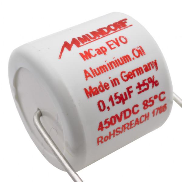 Mundorf MCap MEO EVO Oil Öl 0,15uF 450V High End Kondensator capacitor 854263