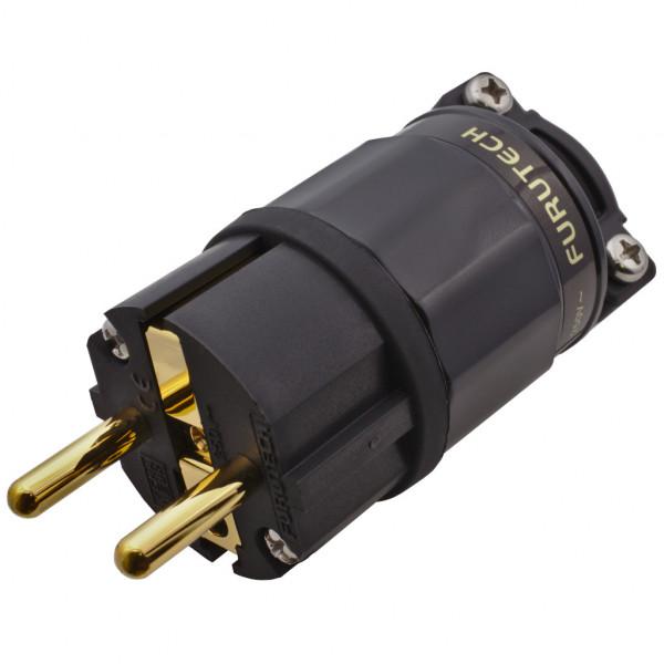 Furutech FI-E11 G Schuko-Stecker FI-E11G Schukostecker FI-E11 Gold 853313