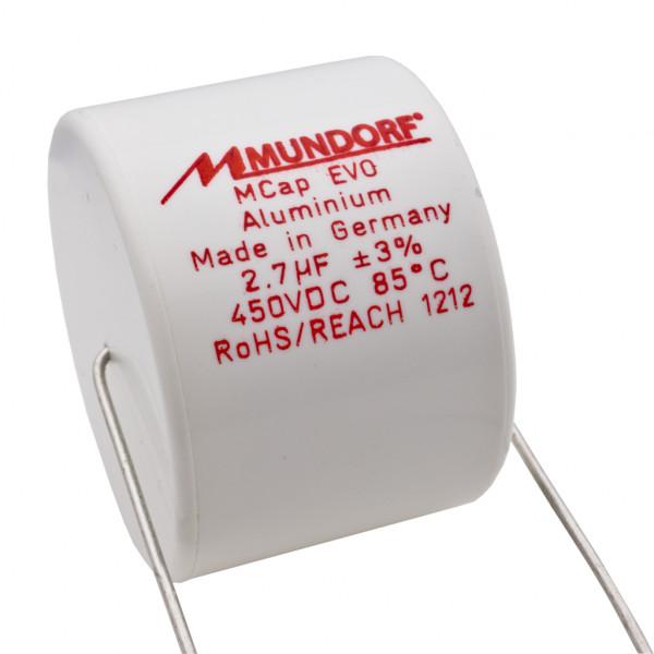 Mundorf MCap ME EVO 2,7uF 450V High End Audio Kondensator capacitor 853749