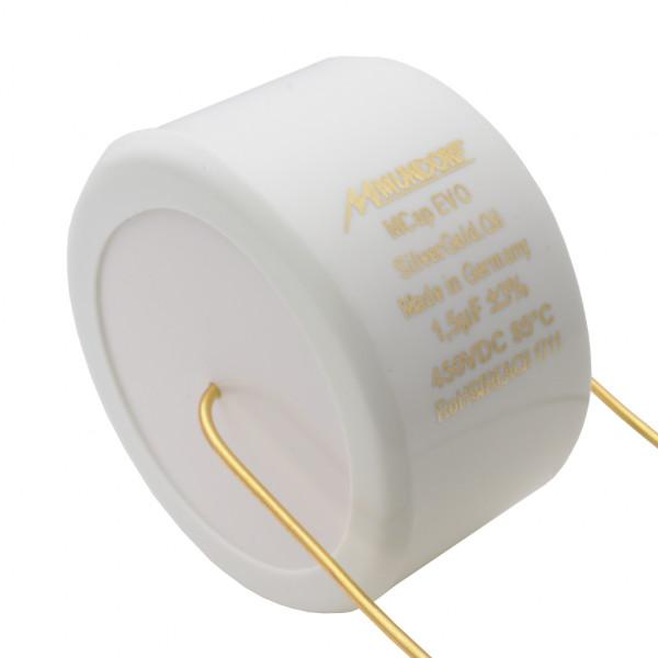 Mundorf MCap MESGO EVO SilberGold.Öl Oil 1,5uF Kondensator capacitor 853800