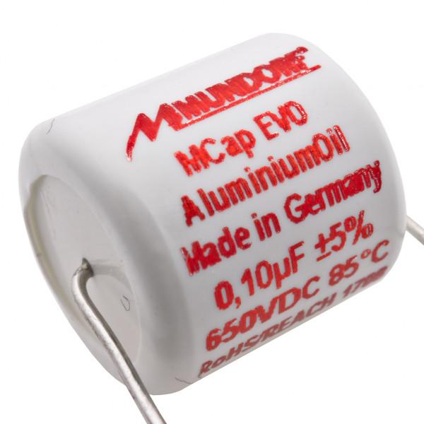 Mundorf MCap MEO EVO Oil Öl 0,1uF 650V High End Kondensator capacitor 854262