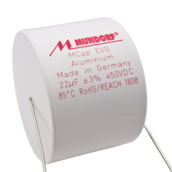 Mundorf MCap ME EVO 22uF 450V High End Audio Kondensator capacitor 853798