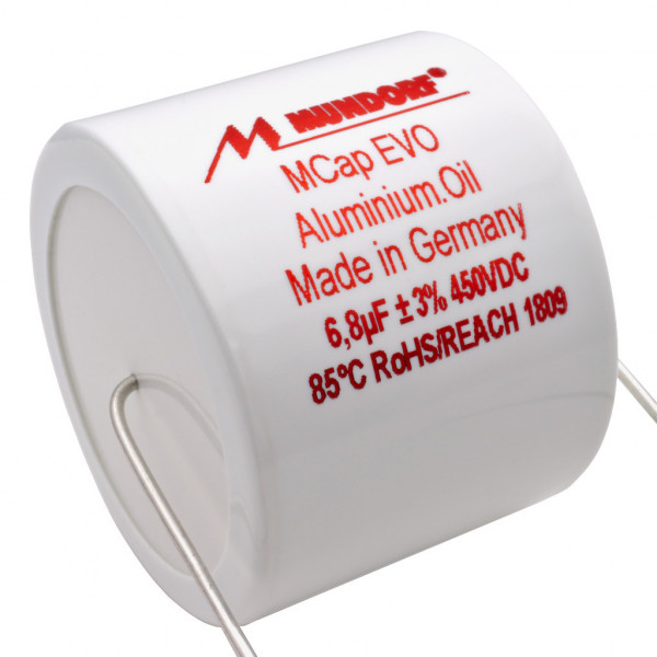 Mundorf MCap MEO EVO Oil Öl 6,8uF 450V High End Kondensator capacitor 853764