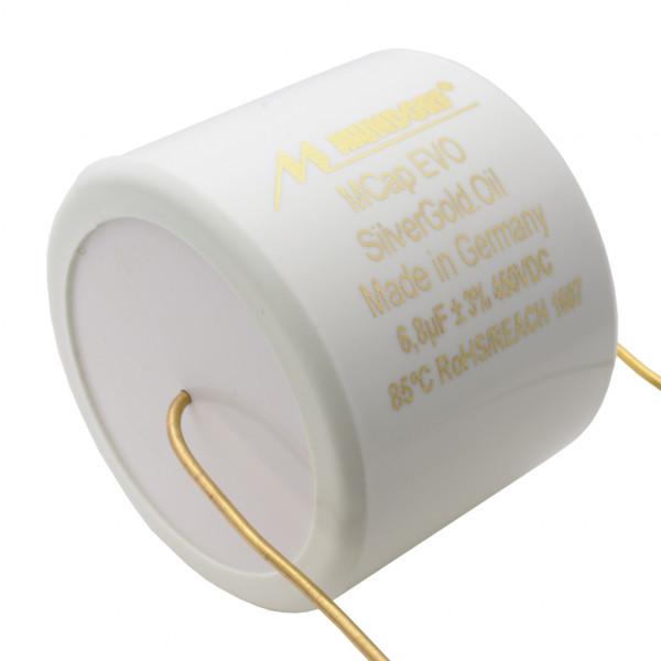 Mundorf MCap MESGO EVO SilberGold.Öl Oil 6,8uF Kondensator capacitor 853804