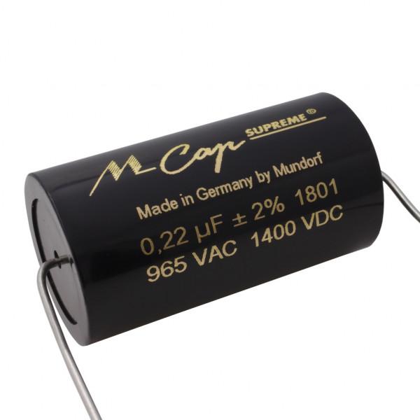 Mundorf MCap SUP8 SUPREME Classic 0,22uF 1400V Kondensator capacitor 851687