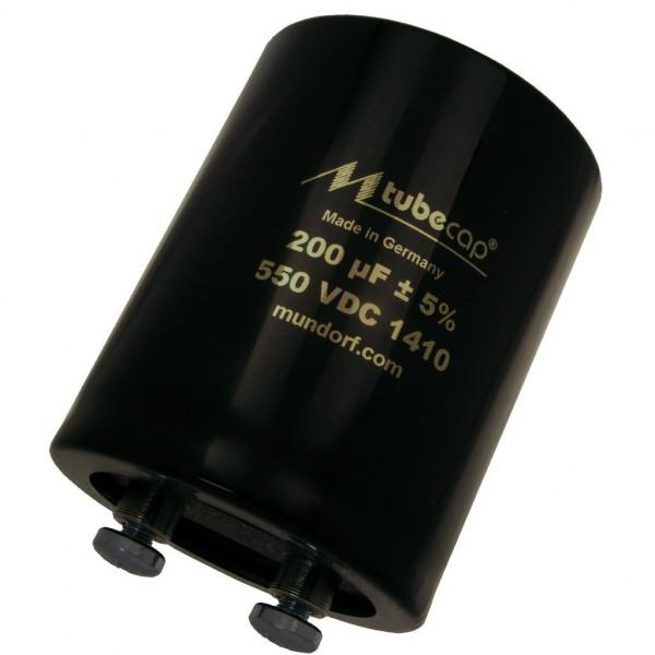 Mundorf TubeCap ® 200uF 550V Kondensator Elko TCAP für Röhrenverstärker 854294