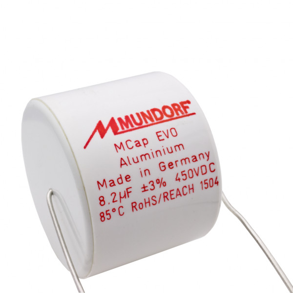 Mundorf MCap ME EVO 8,2uF 450V High End Audio Kondensator capacitor 853795