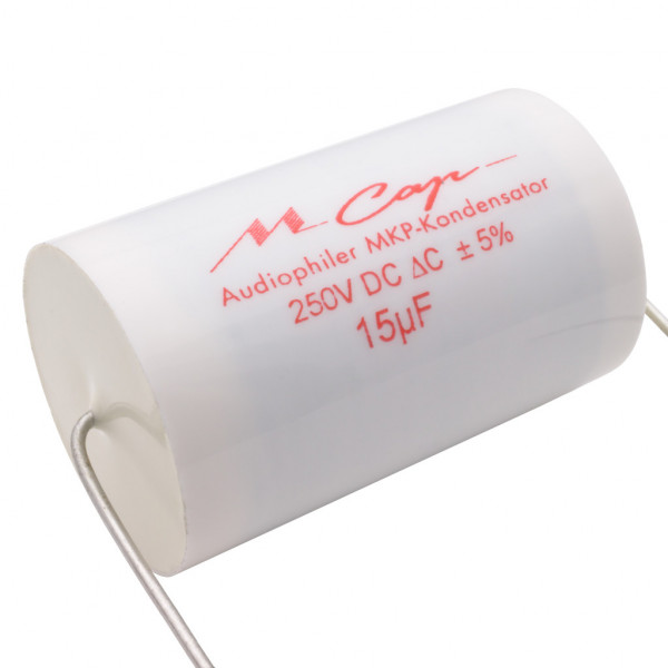 Mundorf MCap250 15uF MKP Audio Kondensator MCap ® capacitor 15µF 250V 853032
