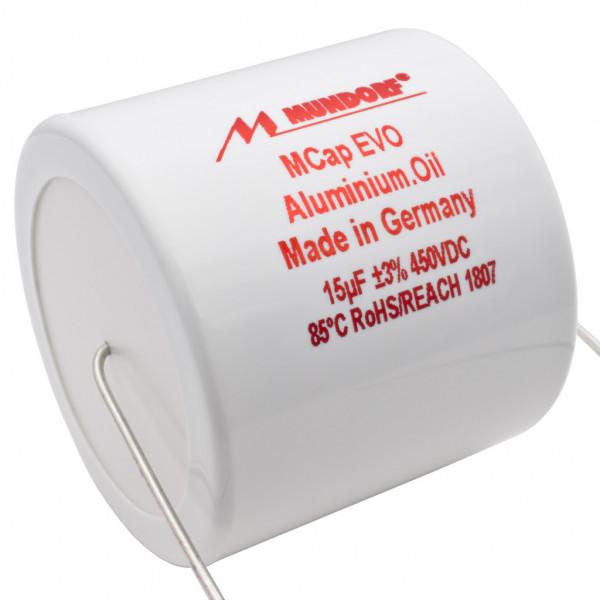 Mundorf MCap MEO EVO Oil Öl 15uF 450V High End Kondensator capacitor 853827
