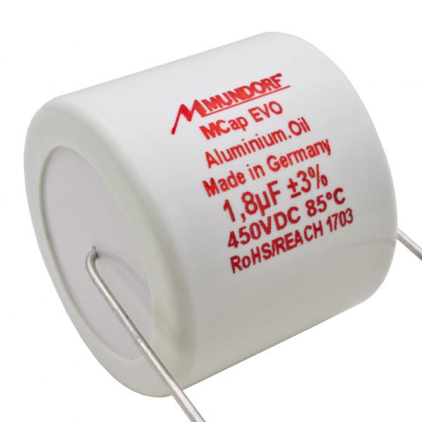 Mundorf MCap MEO EVO Oil Öl 1,8uF 450V High End Kondensator capacitor 860516