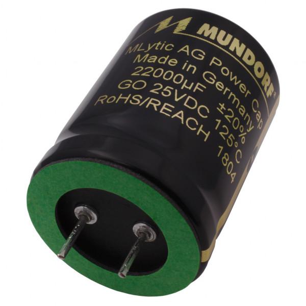 Mundorf Kondensator Elko 22000uF 25V 125°C MLytic ® AG Audio Grade 852930