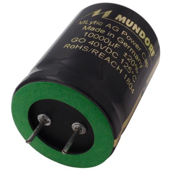 Mundorf Kondensator Elko 10000uF 40V 125°C MLytic ® AG Audio Grade 853373