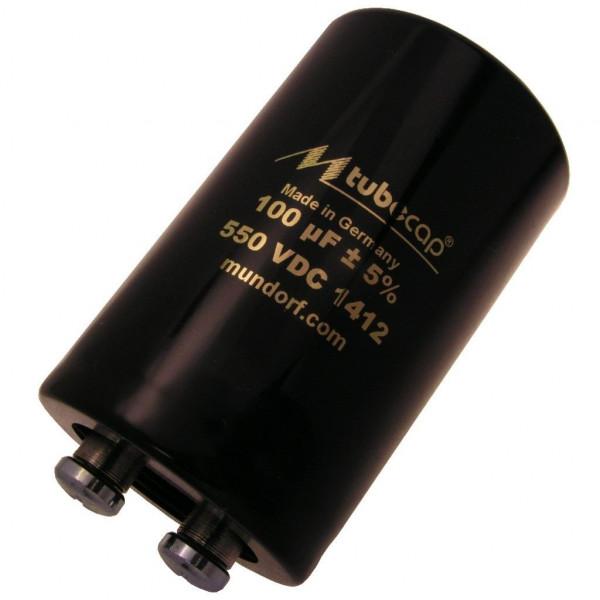 Mundorf TubeCap ® 100uF 550V Kondensator Elko TCAP für Röhrenverstärker 854293
