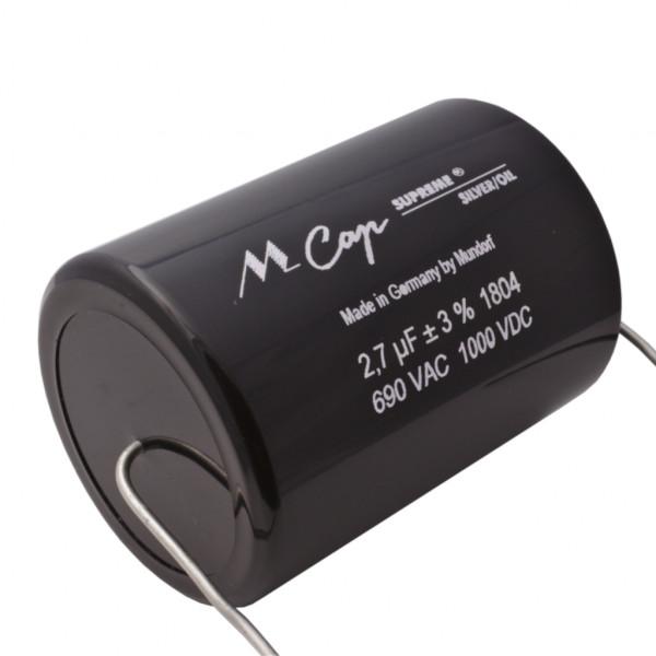 Mundorf MCap SUP.SO SUPREME SILVER OIL Öl 2,7uF Kondensator capacitor 852657