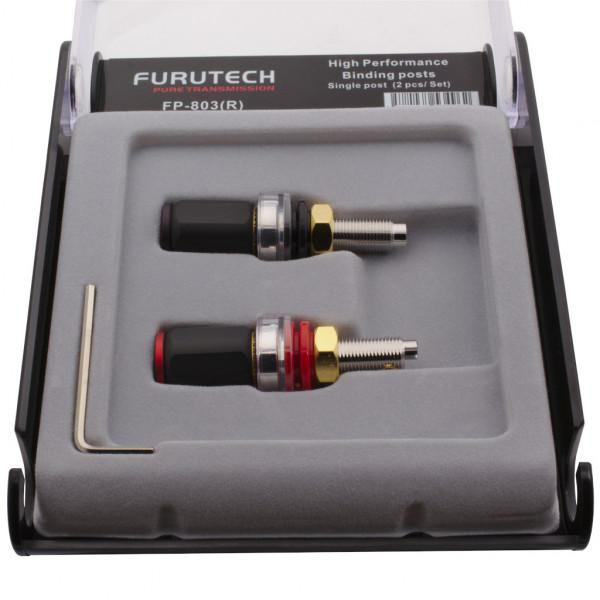 Furutech FP-803 (R) SET 2 Stück High End Polklemme Rhodium Binding posts 854516