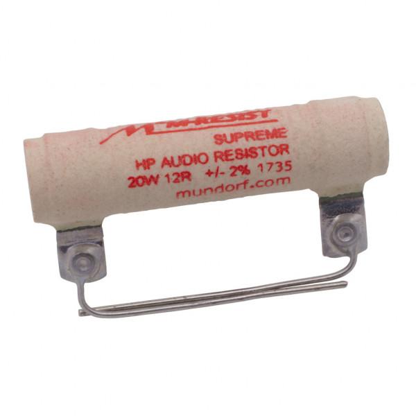 Mundorf MRES20-12 MResist SUPREME 12Ohm Widerstand 12R 20W 2% 853158