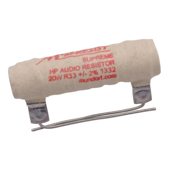 Mundorf MRES20-0,33 MResist SUPREME 0,33Ohm Widerstand 0,33R 20W 2% 853469