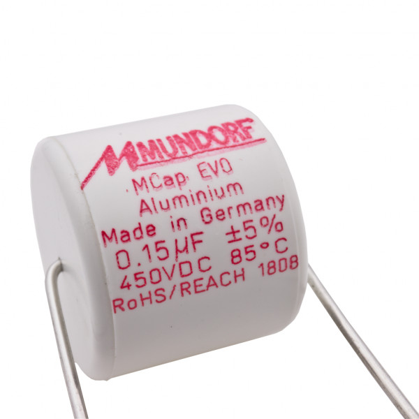 Mundorf MCap ME EVO 0,15uF 450V High End Audio Kondensator capacitor 860450