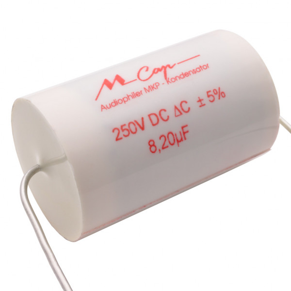 Mundorf MCap250 8,2uF MKP Audio Kondensator MCap ® capacitor 8,2µF 250V 853006