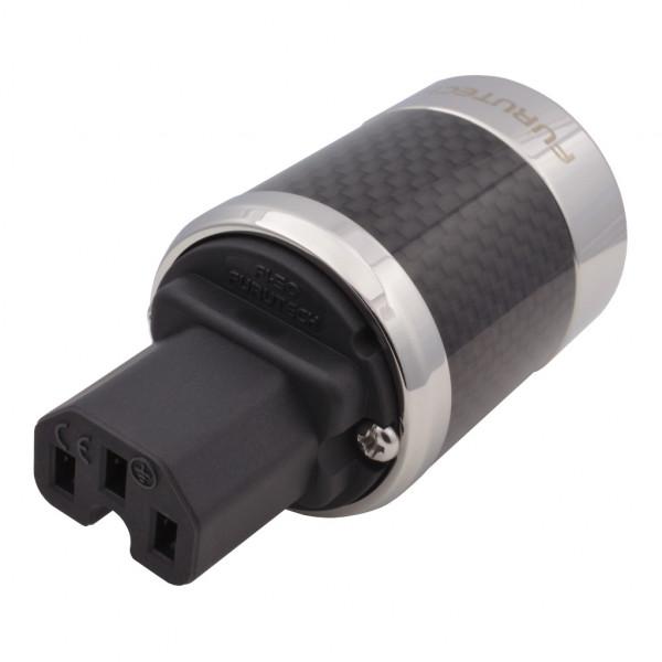 Furutech FI-50 R Kaltgerätestecker Carbon Kaltgerätebuchse FI-50 Rhodium 854508